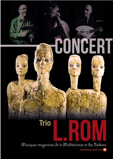 Au fil du Jazz concert L Rom