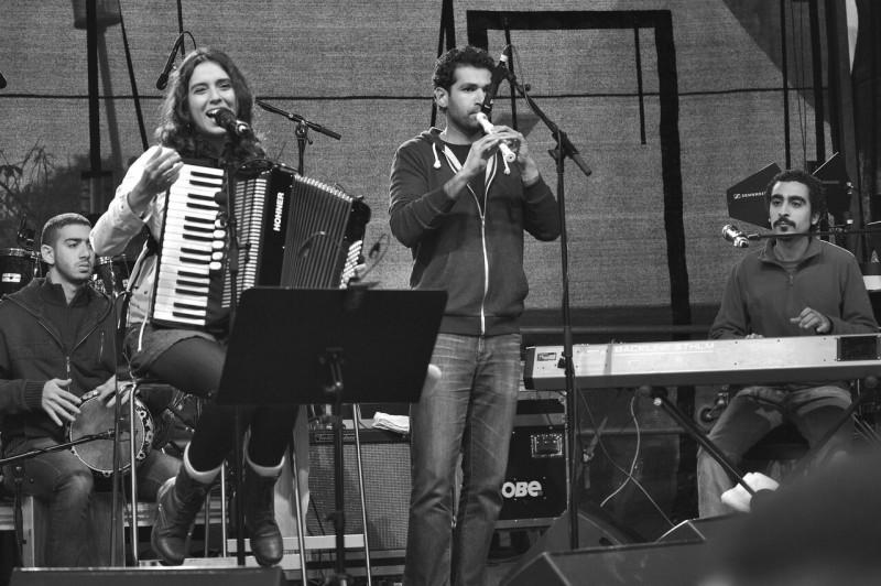 Youssra El Hawary & the band