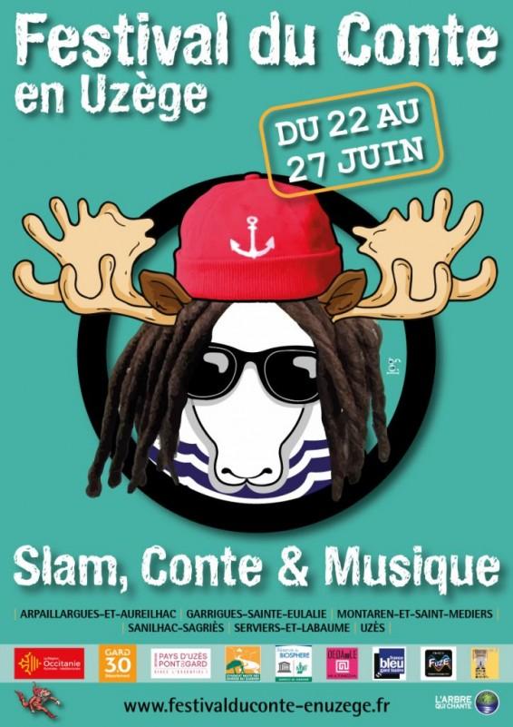 Affiche du Festival du Conte en Uzège